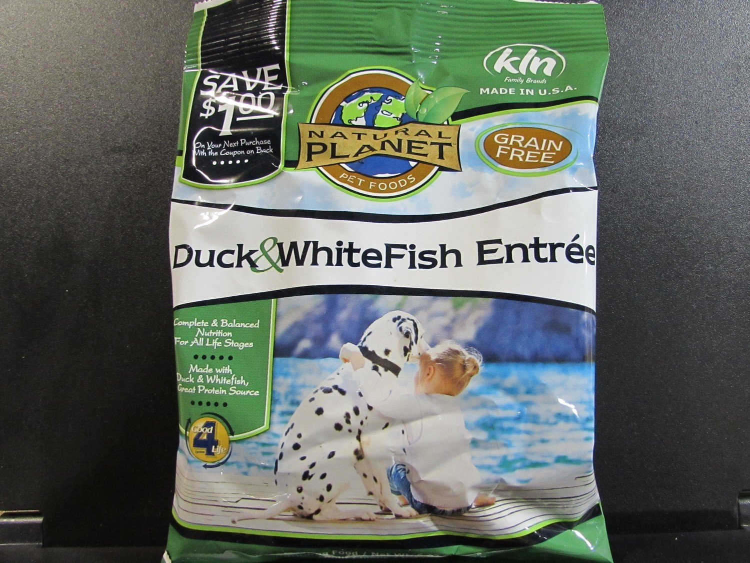 NATURAL PLANET DUCK & WHITEFISH ENTREE 6 OZ (5/18) (A.P1)