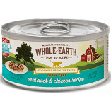 Merrick Whole Earth Farms GF Morsels Duck & Chicken Wet Cat Food 5 oz 1 COUNT (3/19)