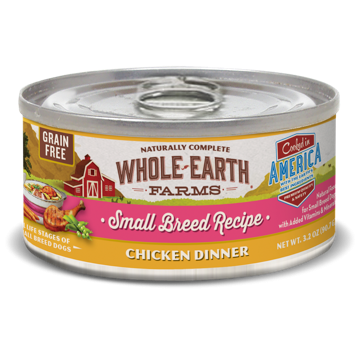 **BOGO** Merrick Whole Earth Farms GF Small Breed Chicken Stew for Dogs 3.2 oz 24 count (1/19)