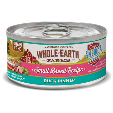 **BOGO** Merrick Whole Earth Farms Grain Free Small Breed Duck Stew for Dogs 3.2 oz 24 count (1/19)