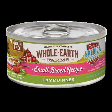 **BOGO** Merrick - Whole Earth Farms Grain Free Small Breed Lamb Stew for Dogs 3.2 oz 24 count (1/19)