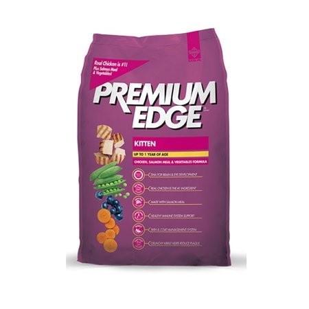 Premium Edge Kitten Chicken, Salmon, Vegis 6 lbs. (9/18) (A.P1)