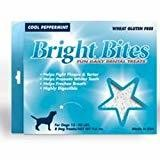 Diamond Bright Bites Daily Dental Peppermint Flavor Dog Treats Medium 9.6 OZ 8 COUNT (12/18) (T.A14/DT)