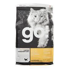 PETCUREAN GO! LID GF/GF DRY CAT FOOD ALL LIFE STAGES 8 LBS (6/19) (A.N7)