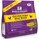 STELLA & CHEWY'S Cfreeze-dried raw just for cats chick chick chicken dinner morsels just add water 18 ounces (3/20)