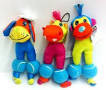 Chomper Balloonz Squeaker Dog Toy - COW (B.A12/AM2)