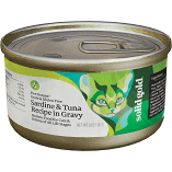 SOLID GOLD FIVE OCEANS SARDINES & TUNA RECIPE IN GRAVY CATS & KITTENS GF/GF 3 OZ 12 CANS (7/19) (A.C1)