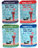 Tiki Cat Aloha Friends Grain-Free Tuna Variety Pack Wet Cat Food, 3 oz, Case of 12 ((8/20)