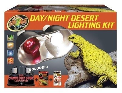 Zoo Med-Aquatrol Day & Night Desert Lighting Kit (B.W4/AM2)
