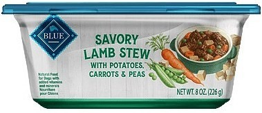 Blue Buffalo Lamb Stew with Potatoes, Carrots & Peas Wet Dog Food - 8 OZ 8 COUNT (5/19) (A.P3)