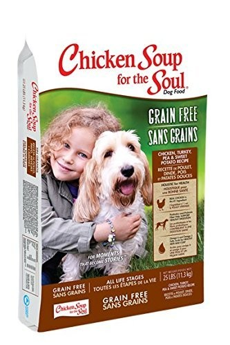 **SALE** Chicken Soup for the Soul Turkey & Pea Dry Dog Food 4 lbs (1/19)