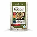 Nature's Variety Instinct Raw Market Meal Blends Beef Recipe Freeze Dried Food for Dogs, 16 oz.  (7/19) (A.R1/DD)