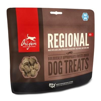 **BOGO** ORIJEN Freeze-Dried Regional Red Dog Treats, 1.5 oz. (3/19) (L.B6)