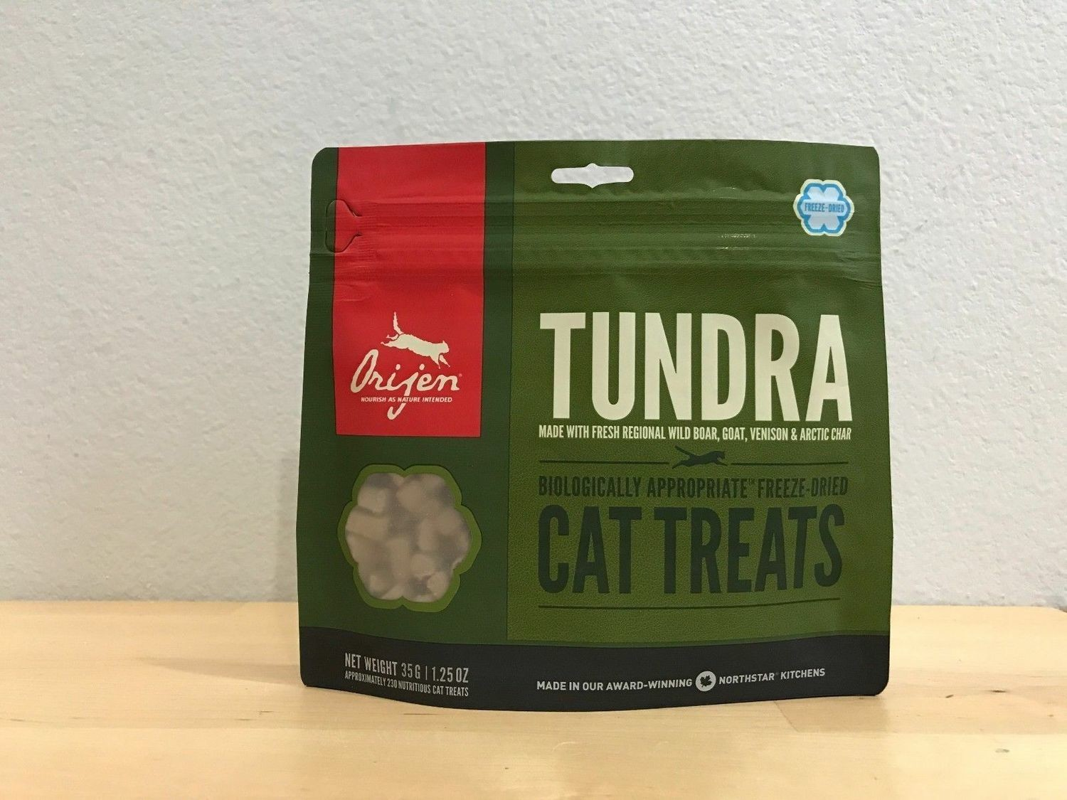 **BOGO** Orijen Freeze-dried Tundra Cat Treats 1.25oz (5/19) (L.A7)