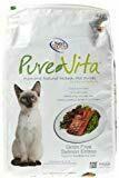 Pure Vita Grain Free Salmon Cat Food 15 lb. (03/19) (A.M3)