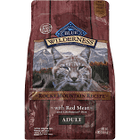 Blue Wilderness Adult Grain Free Rocky Mountain Recipe Dry Cat Food 4 lbs
