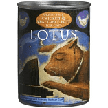 Lotus Chicken & Vegetable Pate Grain-Free Canned Cat Food 12.5 oz 12 count (9/19) (A.L5)