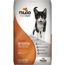 Nulo FreeStyle Turkey & Duck Cat & Kitten Dry Cat Food 12 lbs (1/19) (A.L4)