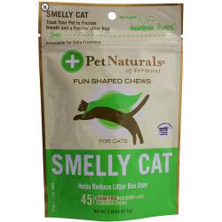 **SALE** Pet Naturals Of Vermont Smelly Cat Fun-shaped Chews 45 chews (T.D3)