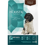 Holistic Select Natural Grain Free Puppy Recipe, Anchovy, Sardine & Chicken Meal Dry Dog Food 12 lbs (01/19) (A.O7)