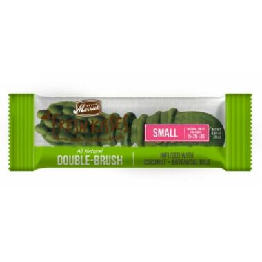 **BOGO** Merrick Fresh Kisses Coconut Oil Small Brush Dental Dog Treat - 25 Count #66017 (02/19) (A.K4)