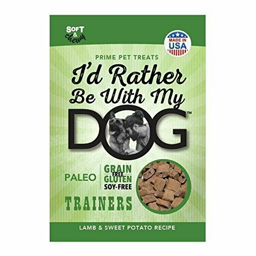 Id Rather Be With My Dog Trainer Lamb & Sweet Potato 12 oz (01/19) (A.E1)