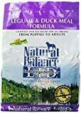 Natural Balance L.I.D. Limited Ingredient Diets Diets Legume & Duck Meal Dog Food 4.5 lbs (4/20)