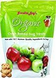 Grandma Lucy's Organic Oven Baked Apple Dry Dog Treats, 14 Oz (8/18)