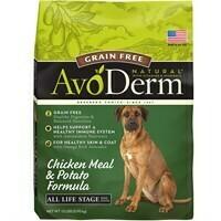 Avoderm Grain Free Chicken Meal & Potato Dry Dog Food, 13 Lb (2/19) (A.N6)