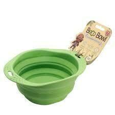 Beco Dog Travel Bowl - Green, Small�(B.D3/PR/BOWL)