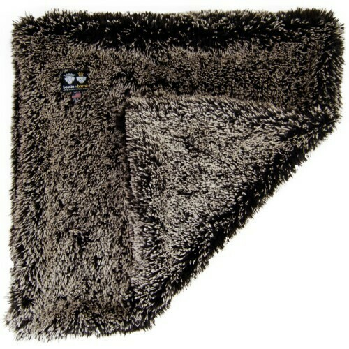 """Bessie and Barnie Ultra Plush Frosted Willow Luxury Shag Pet Blanket, 24"""" L X 24 (RPAL142/AM3)"""