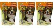 Fido Naturals Doozie Bone Dental Care Dog Bones, Cheese Flavor, 4ct (large) (2/19) (T.D2/DT)