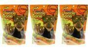 Fido Naturals Doozie Bone Dental Care Dog Bones, Carrot Flavor, 21ct (mini) (9/18) (T.D7/DT)