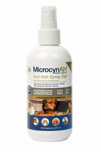 Microcyn Animal Health Anti-itch Spray Gel  (O.Q1/PR)