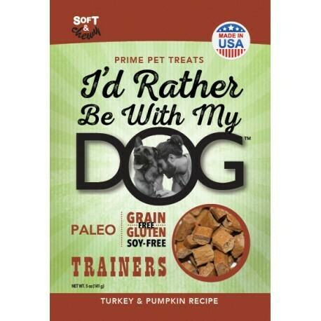 I'd Rather Be with My Dog Trainers, Turkey, Pumpkin 12 oz (1/19) (T.E6)
