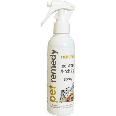 Pet Remedy Natural Essential Oils For Calming Animals - 200ml Spray (O.Q1/PR)
