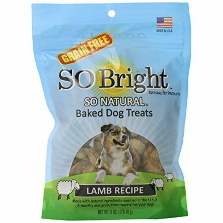 10 FUR $1.00 So Bright Grain-Free Baked Lamb Recipe Treats 6 oz (1/19) (A.I2/T.B12) **Buy 1 Get 4,  Buy 2 Get 8, Buy 3 Get 12 etc. etc.**