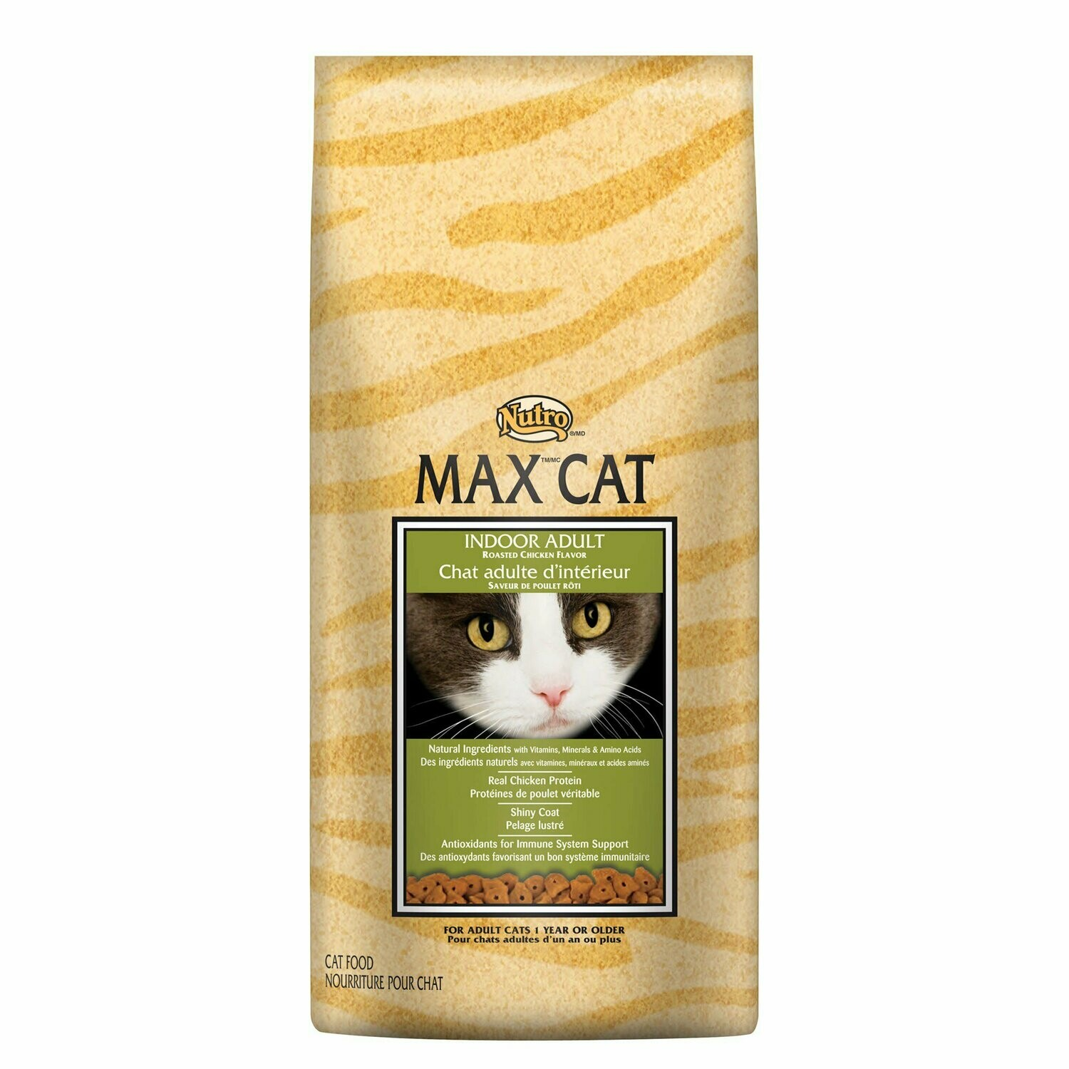 Nutro Max Healthy Cat Indoor Adult Roasted Chicken Flavor Dry Cat Food 6 Lbs (12/19) (A.F2)