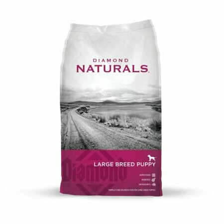 Diamond Naturals Dry Food For Puppy, Large Breed Lamb And Rice Formula, 6 Pound