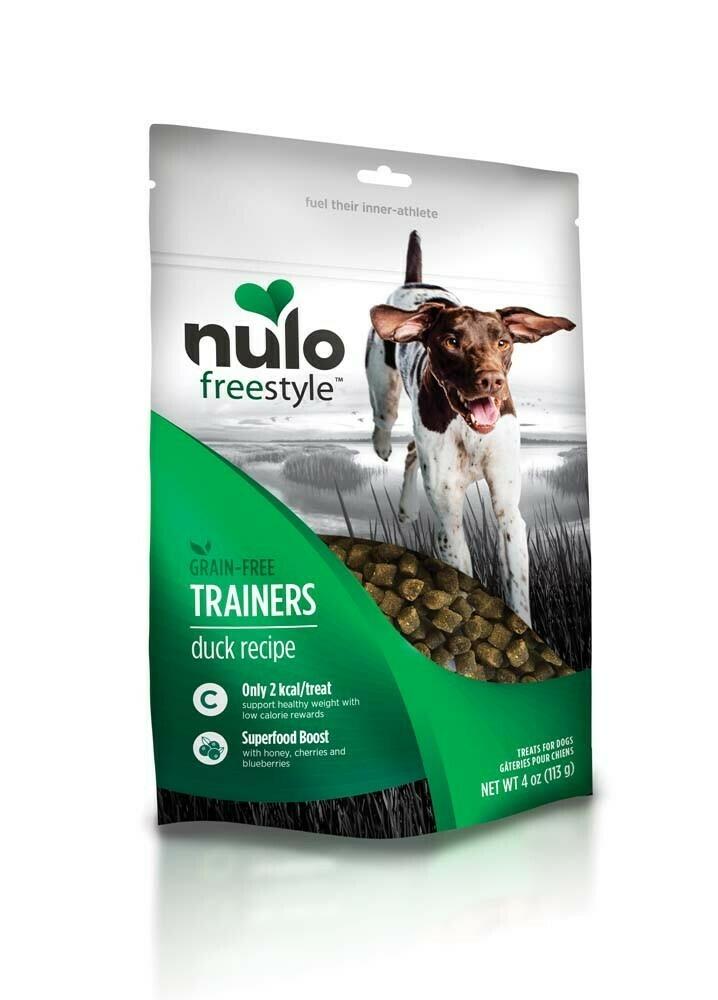 Nulo FreeStyle Duck Training Dog Treats, Healthy Gluten Free 4 oz (1/19) (T.A2/DT)