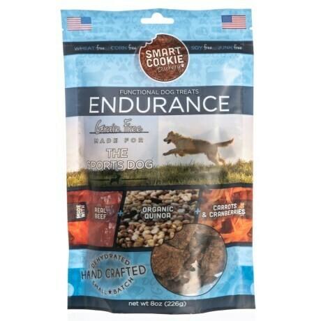 The Sports Dog: Endurance Dog Treats - Grain Free, 8 oz. (10/18) (A.R3)