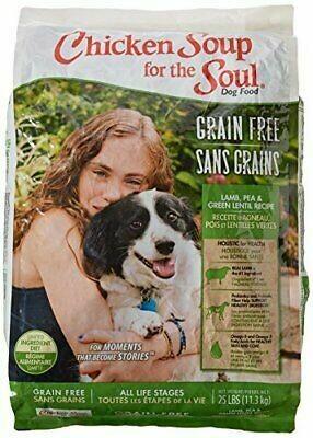 Chicken Soup Grain-Free Lamb, Pea & Green Lentils L.I.D. 25 lbs (12/18) (A.F4)