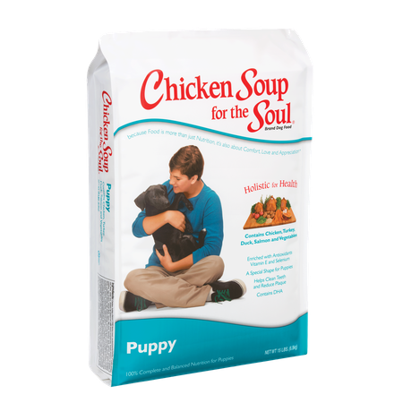 Chicken Soup for the Soul Puppy Dry Dog Food 15 lbs (11/18) (A.F4)