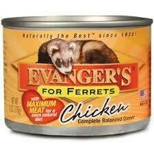 Evanger's for ferrets chicken complete balanced dinner 1 CAN ONLY (9/20)