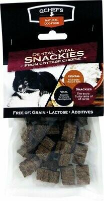 Qchefs Dental Vital Snackies - Hond - Snack 2 oz (1/19) (A.O3)
