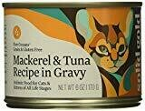 Solid Gold Five Oceans Mackerel & Tuna Grain Free Canned Cat Food, Case of 24, 6oz  (12/19) (A.E1)