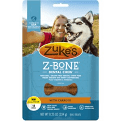 Zuke's Z-Bones Clean Carrot Crisp Dental Dog Treats Mini, 18 chews 8.25 oz (8/19)
