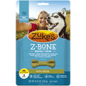 Zuke's Z-Bones Clean Apple Crisp Dental Dog Treats, Mini 18 chews 8.25 oz (9/19) (A.B3)