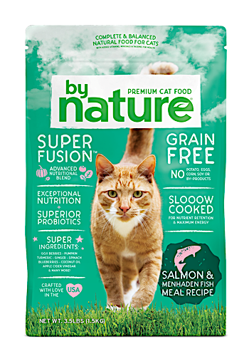 "240 Pounds ""BULK"" By Nature Salmon & Whitefish Recipe Cat Food 20 Pound Bags - 12 Count (10/19) NOTE:  Newly formulated food direct from the manufacturer comes in White Bags"
