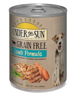 Canidae Under The Sun Grain-Free Lamb Wet Dog Food 13 oz 12 count     (8/19) (A.K5)